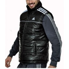 Мъжки елек / грейка Adidas черен