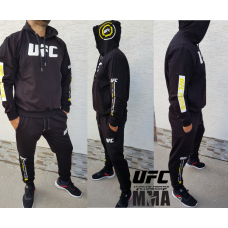 МОДЕРЕН мъжки спортен екип UFC MMA черен