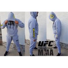 МОДЕРЕН мъжки спортен екип UFC MMA сив