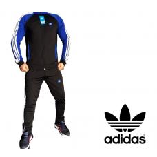 Мъжки анцуг ЕСЕН/ЗИМА ADIDAS ORIGINALS черен синьо