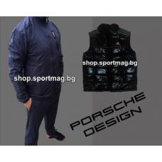 ОФЕРТА мъжки анцуг ADIDAS Porsche Design NEW индиго+елек