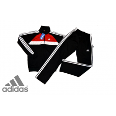 PROMO мъжки анцуг Adidas CLIMAHEAT Poliamid с червено