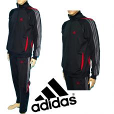 МЪЖКИ СПОРТЕН ЕКИП ЕСЕН/ЗИМА Adidas Climacool Poliamid с червено