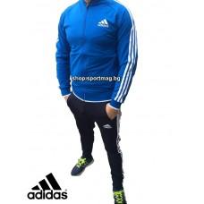 НОВО мъжки анцуг Adidas CLASSIC Poliamid син