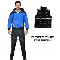 PROMO Мъжки анцуг ЗИМЕН Adidas Porsche Design син+елек