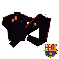 PROMO анцуг NIKE FC Barcelona POLIAMID черен футболен