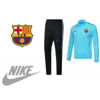 НОВО мъжки спортен комплект NIKE FC Barcelona син