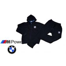 ЗИМЕН ватиран мъжки анцуг BMW тъмно син