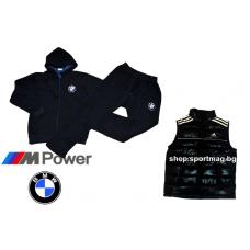 ЗИМЕН ватиран мъжки анцуг BMW тъмно син+елек
