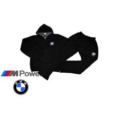 ЗИМЕН ватиран мъжки анцуг BMW черен