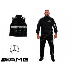 PROMO Мъжки анцуг Mercedes AMG памук+елек