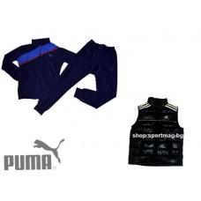 ПРОЛЕТЕН мъжки анцуг PUMA SLIM FIT модел 1+елек