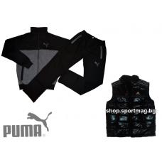 ПРОЛЕТЕН мъжки анцуг PUMA SPORT модел 10+елек