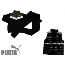 ПРОЛЕТЕН мъжки анцуг PUMA SPORT модел 2+елек