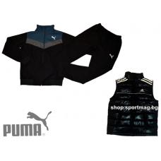 ПРОЛЕТЕН мъжки анцуг PUMA SPORT модел 3+елек