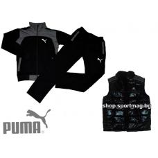 ПРОЛЕТЕН мъжки анцуг PUMA SPORT модел 5+елек