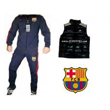 ОФЕРТА футболен анцуг NIKE FC Barcelona индиго+елек