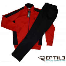 Мъжки спортен комплект Reptile Hebar червен