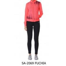 Дамски комплект Speedlife Tracksuits цвят Fuchia