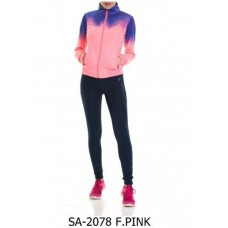 Дамски комплект Speedlife Tracksuits цвят Pink