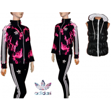 ОФЕРТА дамски спортен екип ADIDAS ADICOLOR модел 1+елек