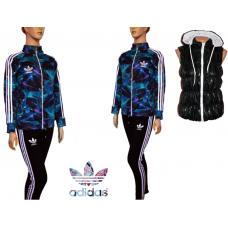 ОФЕРТА дамски спортен екип ADIDAS ADICOLOR модел 3+елек